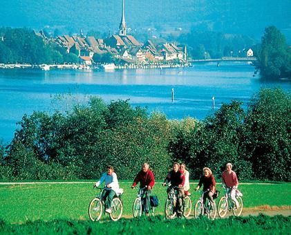 Sfeerimpressie Bodensee vanaf Salem