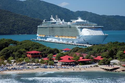 12-d Oost. Caraïbische cruise vanaf Ft. Lauderdale