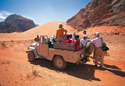 8-daagse rondreis De ontdekking van Jordanië