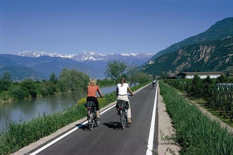 8-daagse fietsreis Schlanders - Riva/Arco