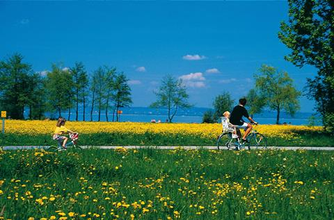 Sfeerimpressie Fietstour Bodensee
