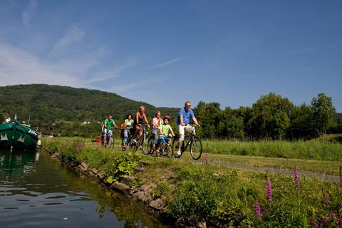 6-daagse fietsreis Lahn