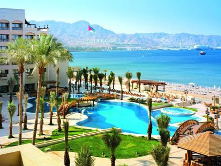 Intercontinental hotel aqaba jordani arke for Hotels jordanie