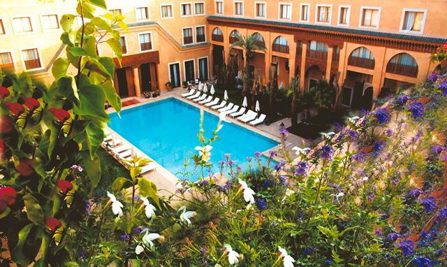 les jardins de la koutoubia hotel marrakech marokko tui was arke. Black Bedroom Furniture Sets. Home Design Ideas