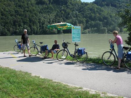 Sfeerimpressie Passau-Wenen