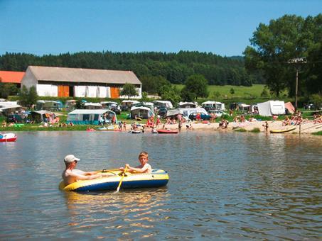 vakantie tsjechië camping 2000