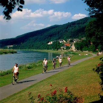 7-daagse fietstour Weser