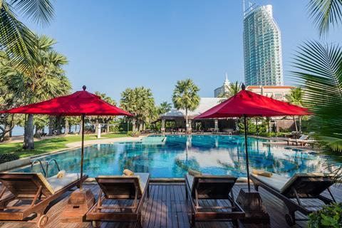 Ravindra Beach Resort & Spa Thailand Golf van Thailand Jomtien sfeerfoto 1