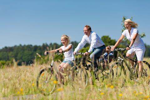 8-daagse kampeer-fietsreis West-Jutland