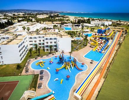 SPLASHWORLD Venus Beach Tunesië Golf van Hammamet Hammamet sfeerfoto 4