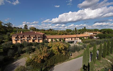 Sovestro Italië Toscane San Gimignano sfeerfoto 4
