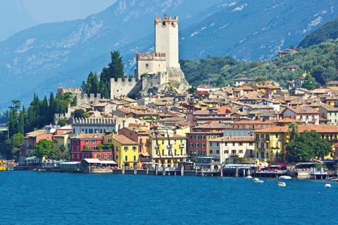 Serenella Italië Gardameer Bardolino sfeerfoto 2