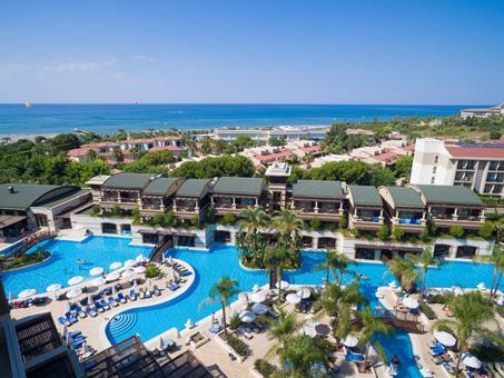Sunis Kumkoy Beach Resort Turkije Turkse Rivièra Side sfeerfoto 3