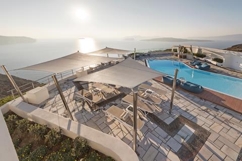 Caldera's Dolphin Suites Griekenland Cycladen Megalochori sfeerfoto 4