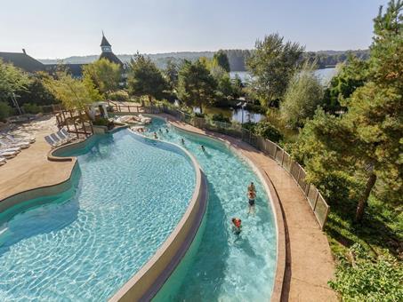 Goedkope vakantie Picardië 🚗️Center Parcs Le Lac d'Ailette