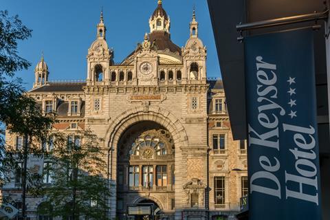 4 dagen Antwerpen, hotel de Keyser