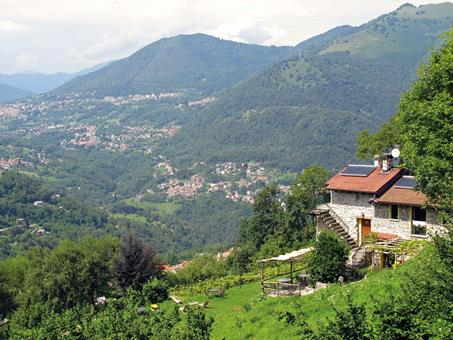 Agriturismo Al Marnich Italië Comomeer Schignano  sfeerfoto groot