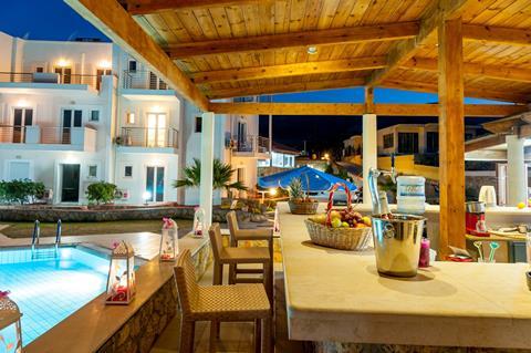 La Playa Beach Griekenland Kreta Malia sfeerfoto 2