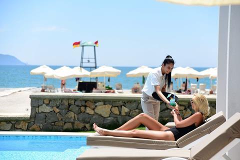Jiva Beach Resort Turkije Lycische Kust Fethiye sfeerfoto 3