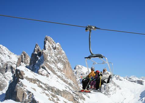 Goedkope skivakantie Dolomieten ⛷️Dolomiti Madonna