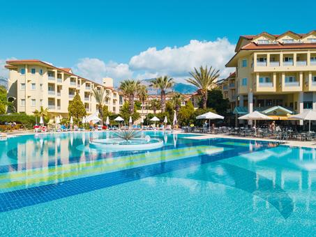 Queen's Park Le Jardin Resort Turkije Turkse Rivièra Kemer sfeerfoto 1