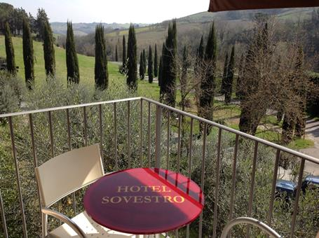 Sovestro Italië Toscane San Gimignano sfeerfoto 3