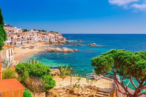 Goedkope zonvakantie  🏝️8-daagse Singlereis Wandelen Catalonie