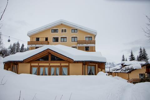 TIP wintersport Dolomieten ⛷️Parkhotel Folgarida