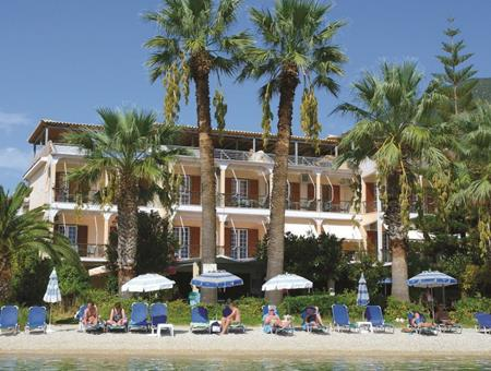 Palm Trees Hotel Griekenland Lefkas Nidri  sfeerfoto groot