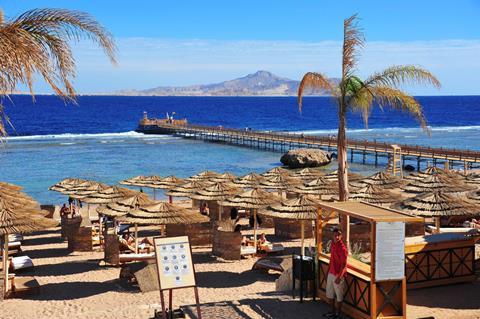 Cleopatra Luxury Resort Egypte Sharm el Sheikh Nabq Bay sfeerfoto 1