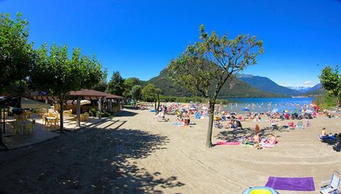 Continental Camping Village Italië Lago Maggiore Fondotoce di Verbania sfeerfoto 2