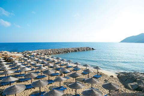 Grecotel Marine Palace & Aquapark Griekenland Kreta Panormo sfeerfoto 1