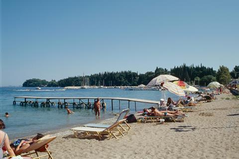 Ipsos Beach Griekenland Corfu Ipsos sfeerfoto 4
