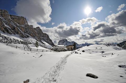 TOP DEAL wintersport Dolomieten ⛷️Luna Mondschein