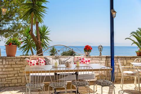 Aurora Beach Griekenland Corfu Agios Ioannis Peristeron sfeerfoto 3