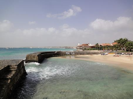 Porto Antigo Kaapverdië Sal Santa Maria sfeerfoto 3