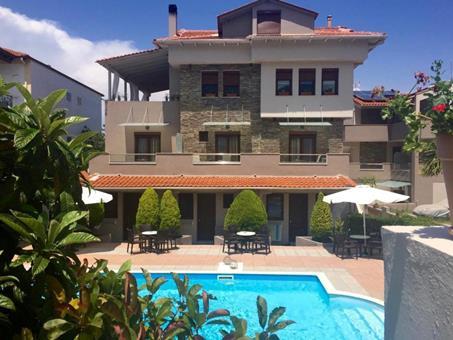 Aroma Villa Griekenland Thassos Thassos-stad  sfeerfoto groot
