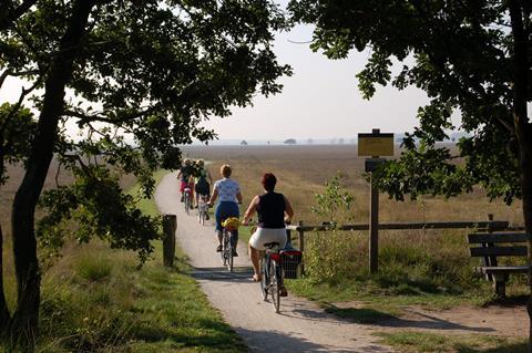 4-daagse fietsreis Hondsrug