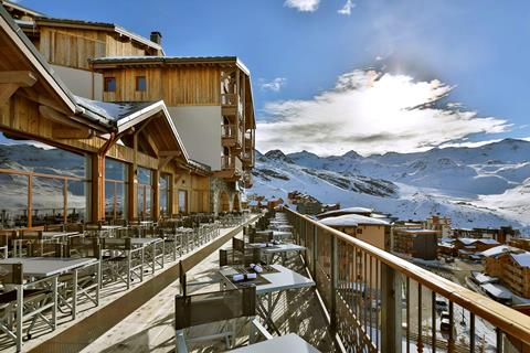Wintersport Koh I Nor in Val Thorens (Franse Alpen, Frankrijk)