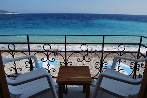 Olympia Beach Griekenland Samos Kokkari sfeerfoto 1