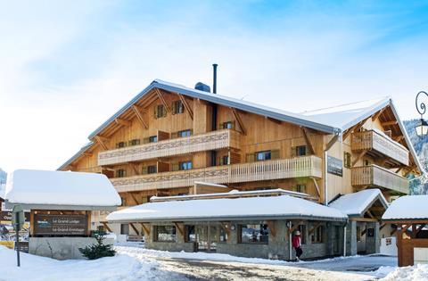 Wintersport Le Grand Ermitage in Châtel (Franse Alpen, Frankrijk)