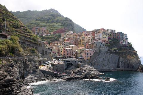 Paese Corvara Italië Cinque Terre Corvara sfeerfoto 1