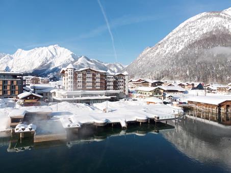 Goedkope wintersport Achental ⛷️Entners am See