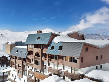 Wintersport Le Valset in Val Thorens (Franse Alpen, Frankrijk)