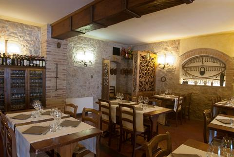 Sovestro Italië Toscane San Gimignano sfeerfoto 2