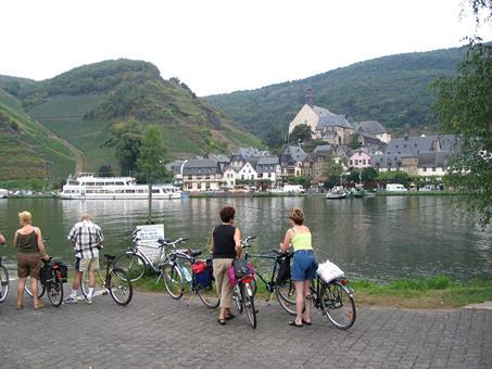 9-daagse fietsreis Moezel, Saar en Rijn