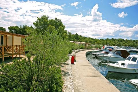 Goedkope familievakantie Noord Dalmatië - Solaris Camping Beach Resort