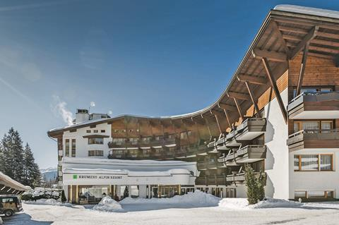 Top wintersport Karwendel ⛷️Krumers Alpin Resort & Spa