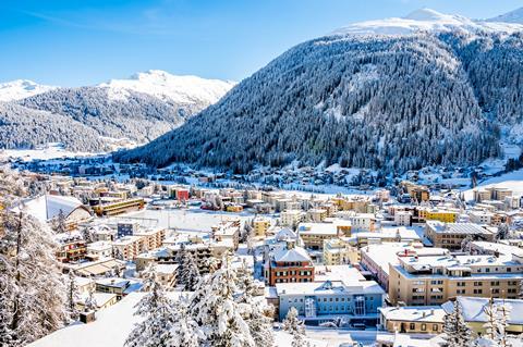 Goedkope skivakantie Graubünden ⛷️Club Hotel Davos