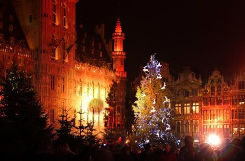 5 daagse busreis Kerst in Belgische steden